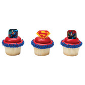 Superman Shield Cake Topper