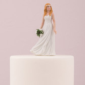Bride Trendy Cake Topper