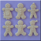 Gingerbread Assorted Silicone Mold