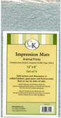 Animal Prints Impression Mat Assorted
