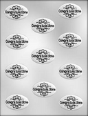 Congratulations Chocolate Mold