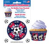 Soccer Cupcake Liners