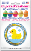 Rubber Ducky Cupcake Liners