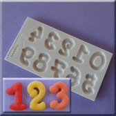 Cartoon Numbers Silicone Mold