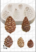 Pine Cones Silicone Mold
