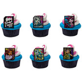 Monster High Cake and Cupcake Toppers