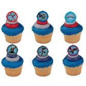 Skylanders Portal Rings Cake and Cupcake Toppers