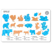 Animal Set Gumpaste Cutter