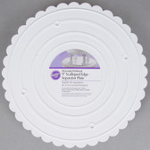 Scalloped Separator Plates 9 inch