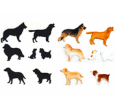 Dog Silhouette Patchwork Cutters
