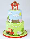 Cute Farm Animal Cutter Set
