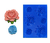 Small Flower Set 9 Silicone Mold