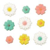 Spring Flowers Pressed Sugars