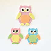 Mummy and Baby Owl Cutter Set