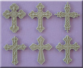 Decorative Cross Silicone Mold