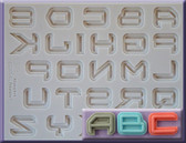 Science Fiction Alphabet Moulds
