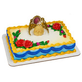 Princess Belle Beauty and the Beast Cake Topper