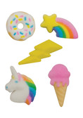 Rainbow Party pressed Sugars