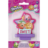Shopkins Cake Candle