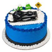 Snowmobile Cake Topper