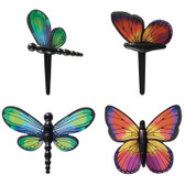 Butterfly and Dragonfly Cake or Cupcake Toppers