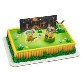 Minion Hula Party Cake Topper