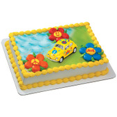 Fashion Car Cake Topper