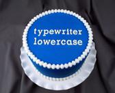 Typewriter Style Lowercase Silicone Molds