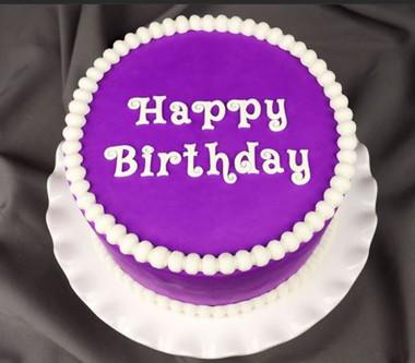 Swirly Style Happy Birthday Silicone