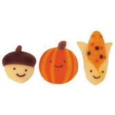 Autumn Friends Pressed Sugars