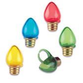 Lightbulbs Cake Toppers ( 8 pc )