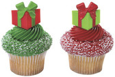 Holiday Gifts Cake and Cupcake Topper