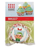 Elf Cupcake Liners