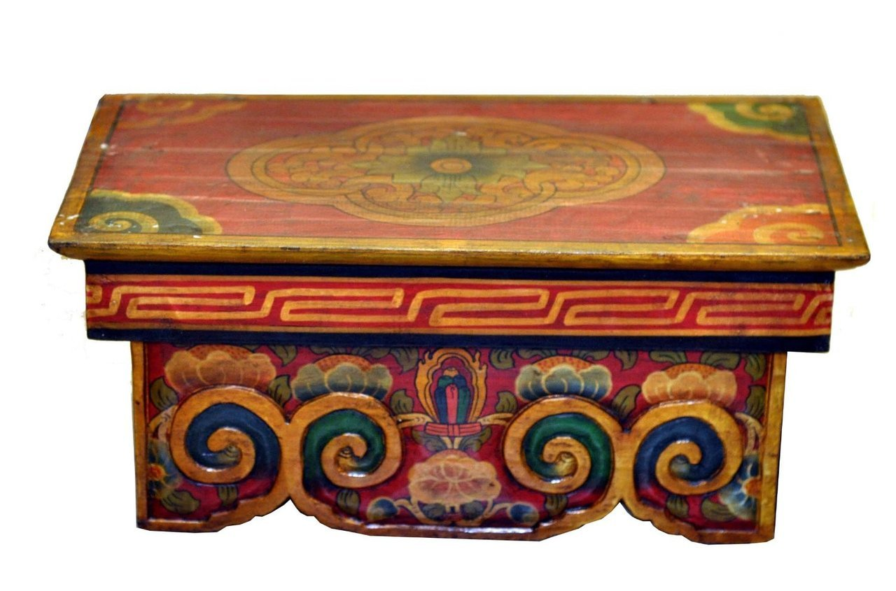 Lotus Flower Meditation Altar Table