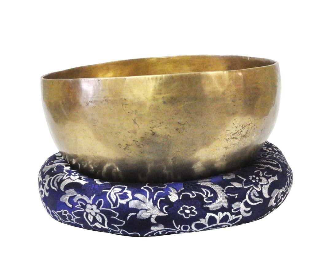Navy Blue extra-large Singing Bowl Cushion