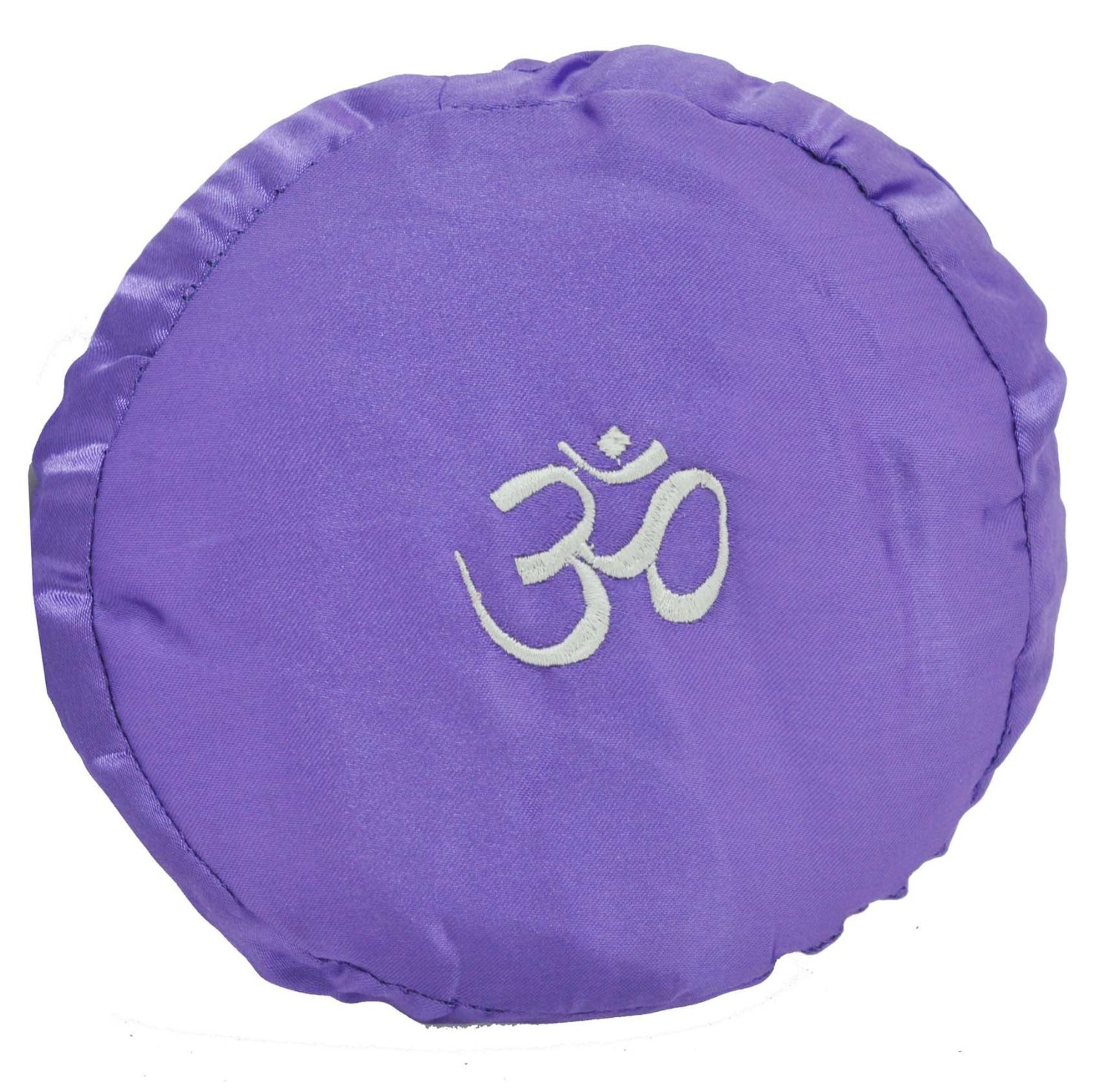Purple Om Symbol Singing Bowl Cushion