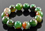 Beautiful Green Agate Wrist Mala