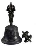 Antique Bell and Vajra Set
