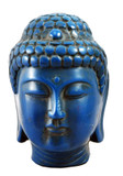 Turquoise Resin Buddha Head Statue