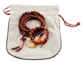 Bodhi Seed Prayer Beads and Wrist Mala Gift Set