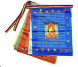 Buddha Satin Prayer Flags