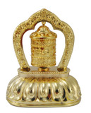 Buddhist Prayer Wheel- Solar Powered, Self-Spinning Mani Wheel with Case