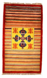 Double Dorje Striped Rug
