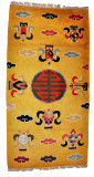 Fortune Symbol and Eight Auspicious Symbols Rug