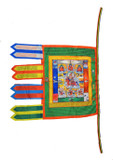 Guru Rinpoche Handmade Buddhist Prayer Flag
