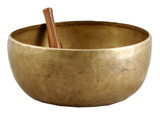 Hand-Hammered Singing Bowl, Handmade Singing Bowl, 9.25""