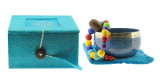 Heart Chakra Singing Bowl Gift Set
