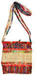 Hemp and Recycled Silk Handbag