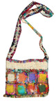 Hemp and Recycled Silk Square Handbag