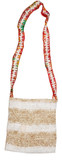 Hemp and Straw Handmade Shoulder Bag